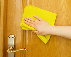 Wooden Door and Frame Cleaning Very Easy...